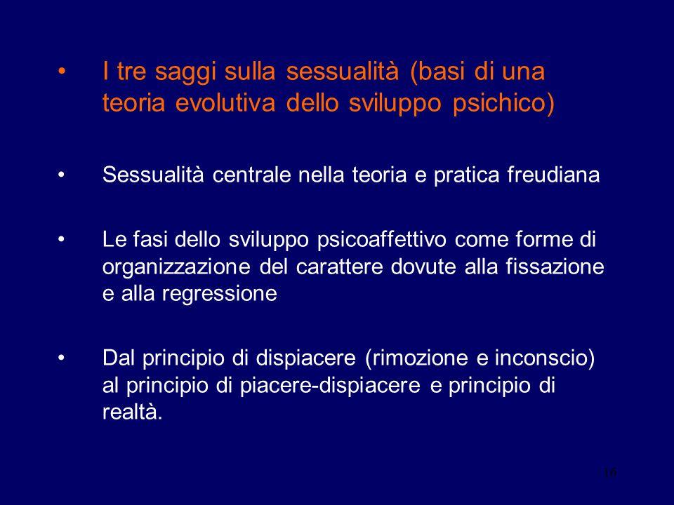 I tre saggi sulla sessualità (basi di una teoria evolutiva dello sviluppo psichico)