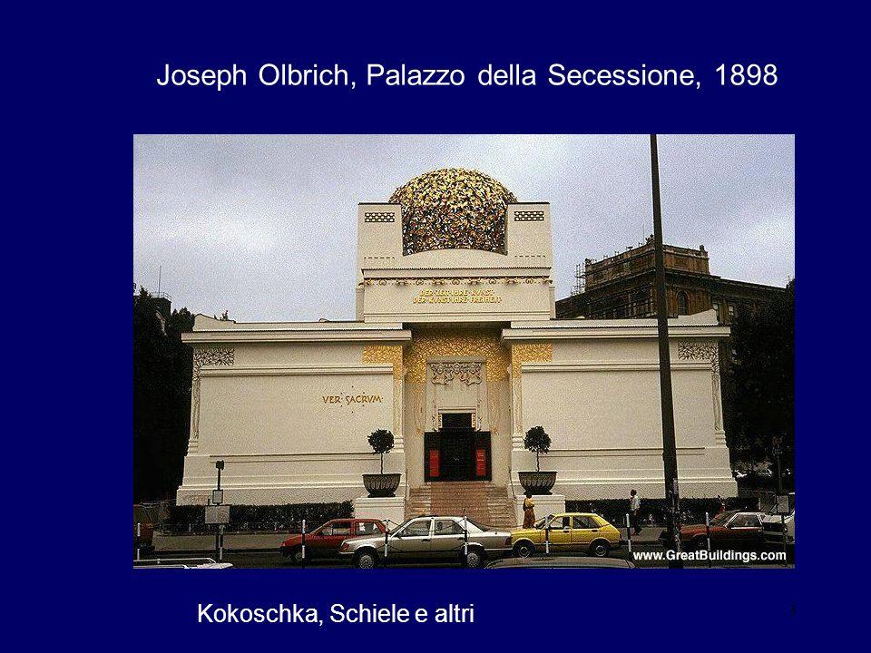 Joseph Olbrich, Palazzo della Secessione, 1898