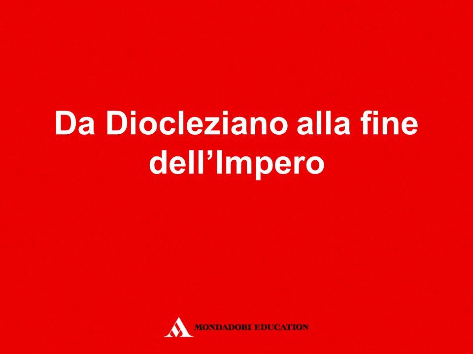 Da Diocleziano alla fine dell'Impero