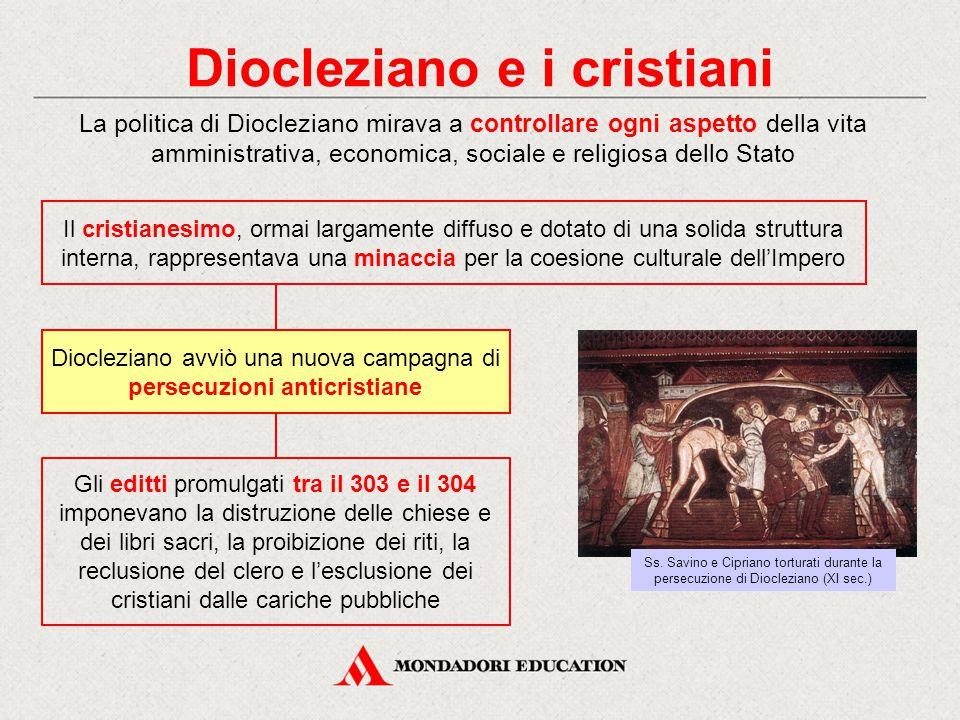 Diocleziano e i cristiani