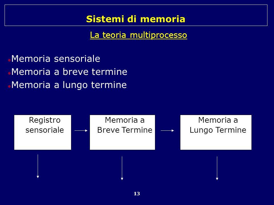 La teoria multiprocesso