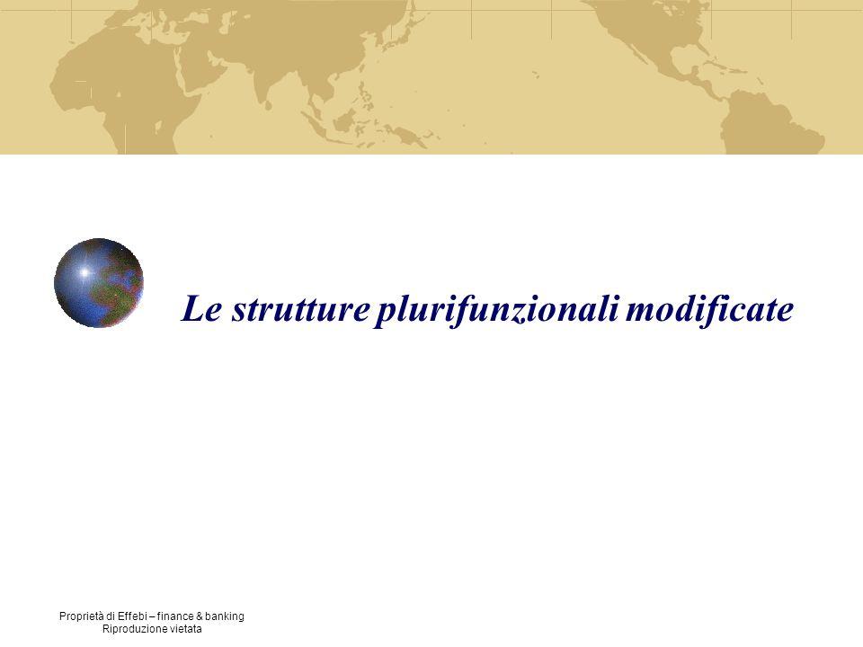 Le strutture plurifunzionali modificate