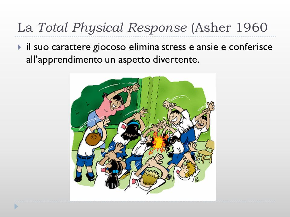La Total Physical Response (Asher 1960