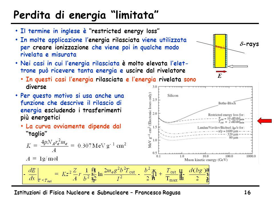 Fluttuazioni nella ionizzazione