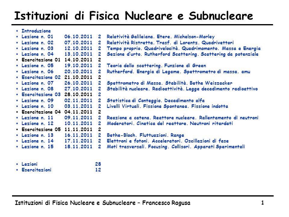 Lezione n. 13 13.11.2013