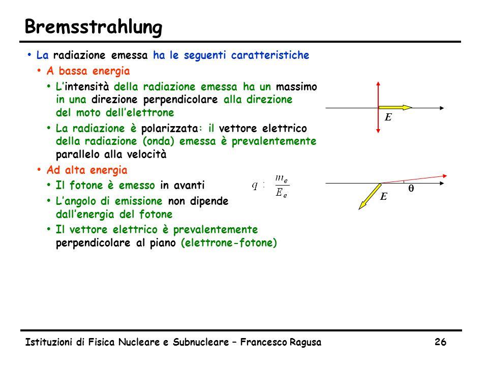 Passaggio dei fotoni nella materia