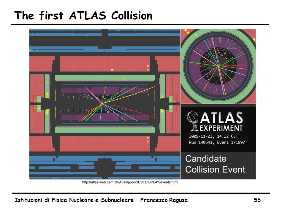 ATLAS Beam Halo Event (November 2009)