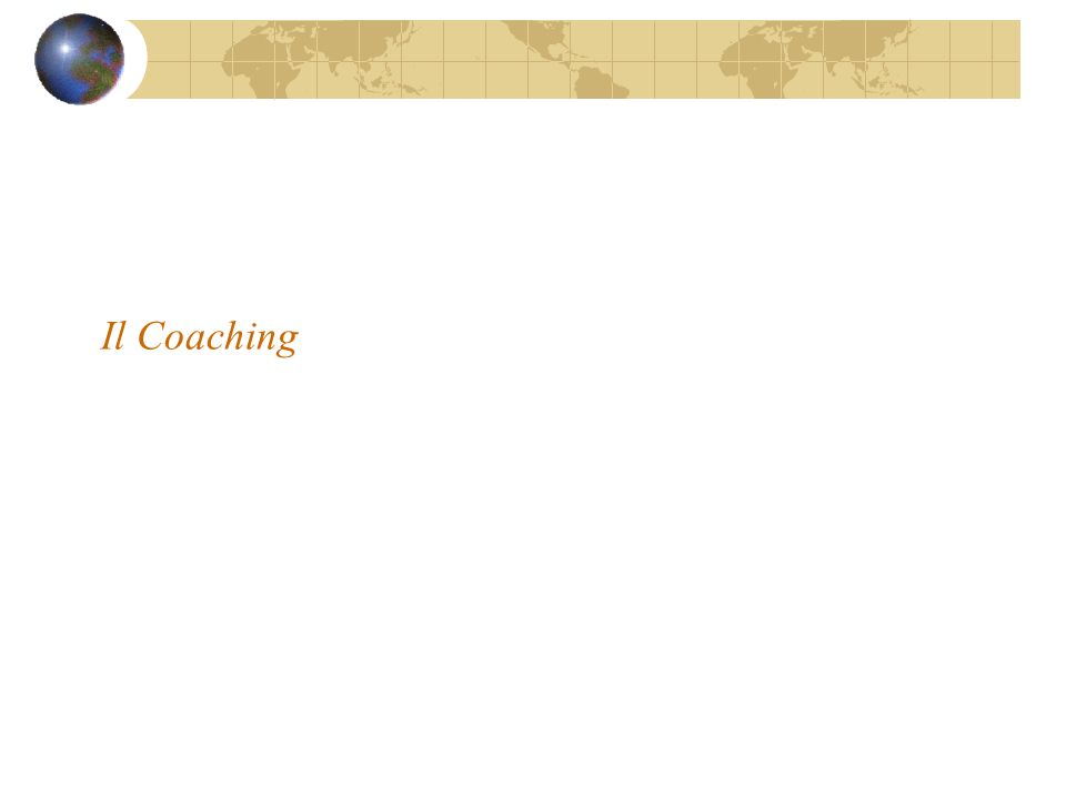 Il Coaching