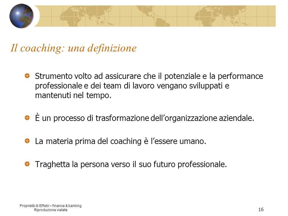 Il coaching: una definizione