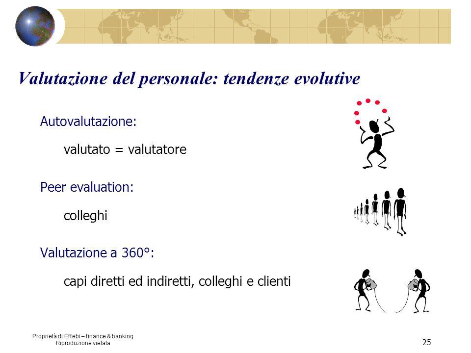 Valutazione del personale: tendenze evolutive