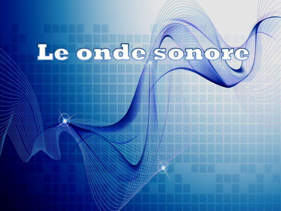 Le onde sonore