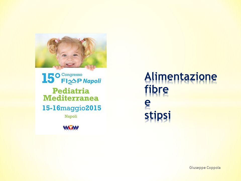 Alimentazione fibre e stipsi