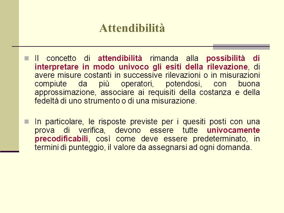 Attendibilità