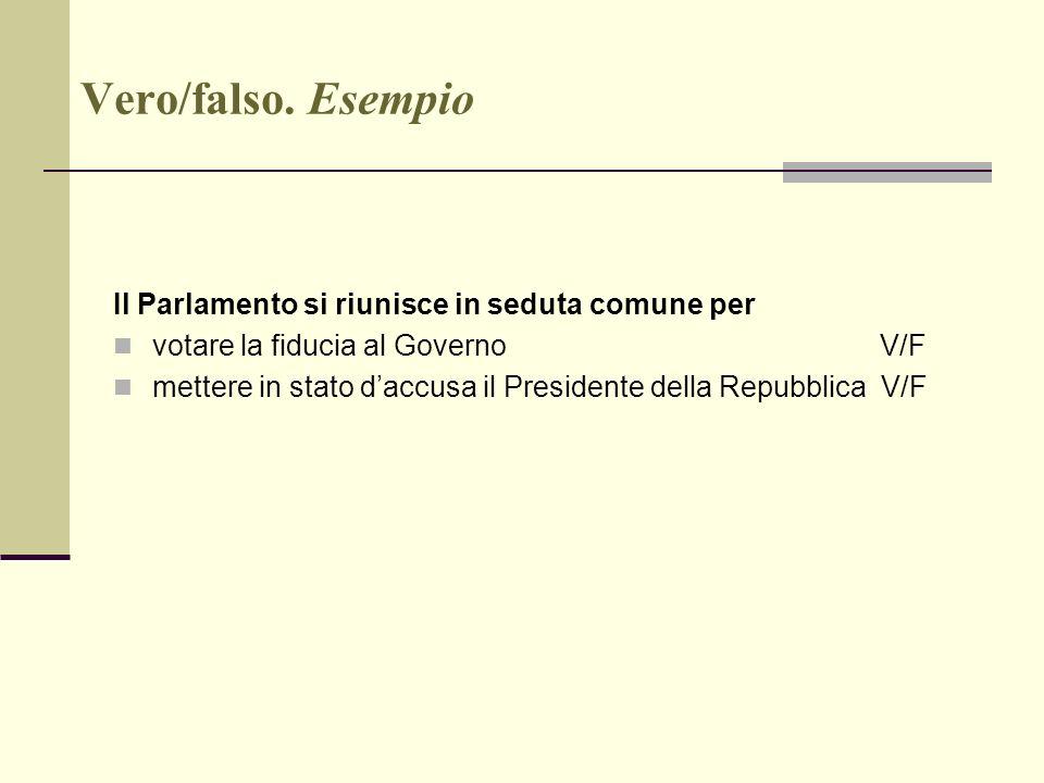 A a 2009 10 gli strumenti della valutazione responsabile for Il parlamento in seduta comune