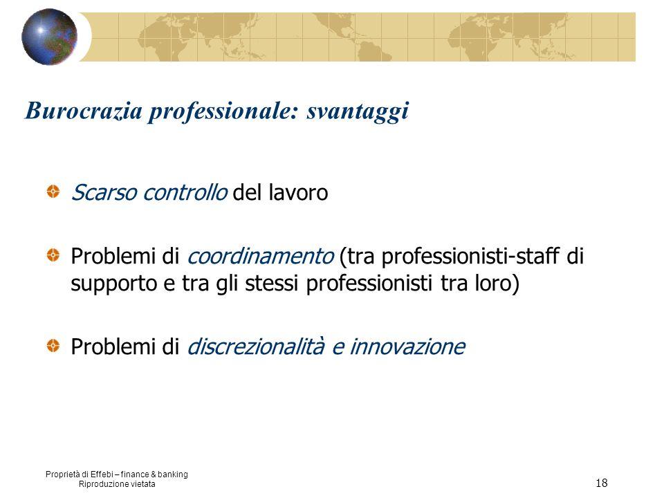 Burocrazia professionale: svantaggi