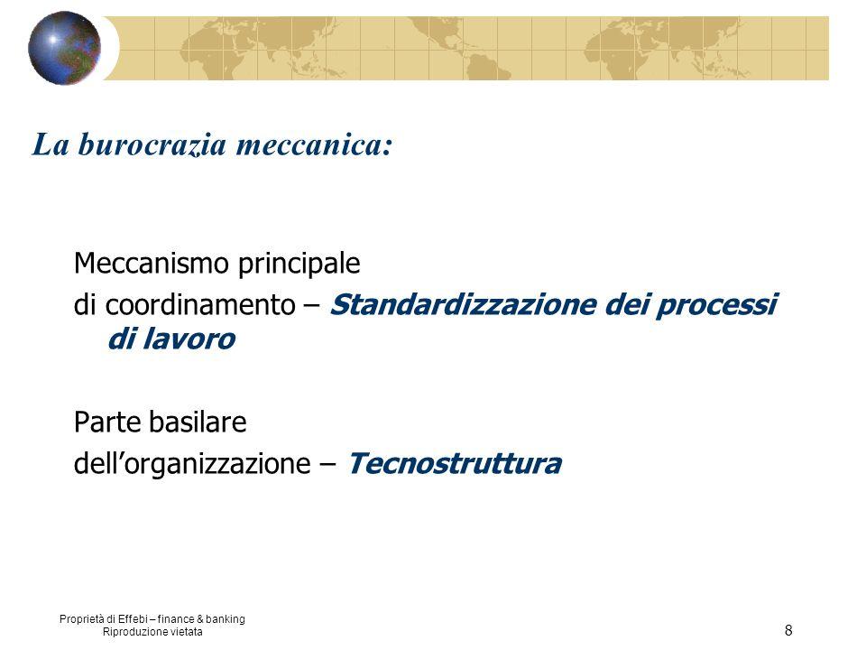 La burocrazia meccanica: