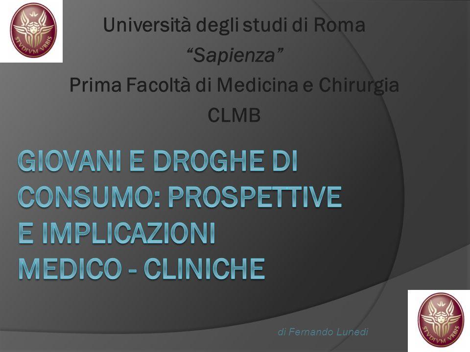 Università degli studi di Roma Prima Facoltà di Medicina e Chirurgia