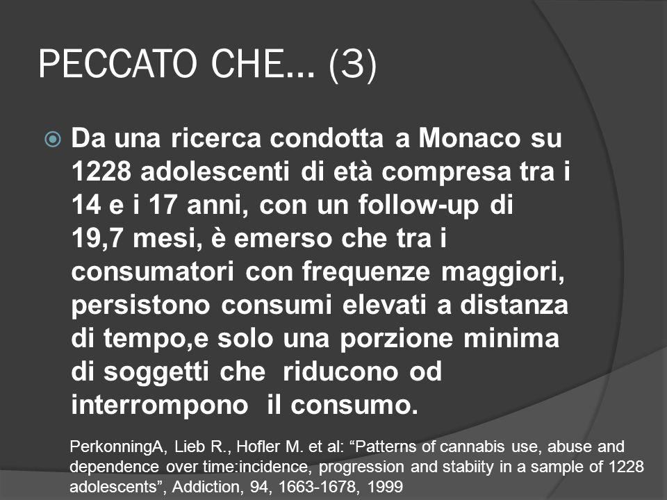 PECCATO CHE… (3)