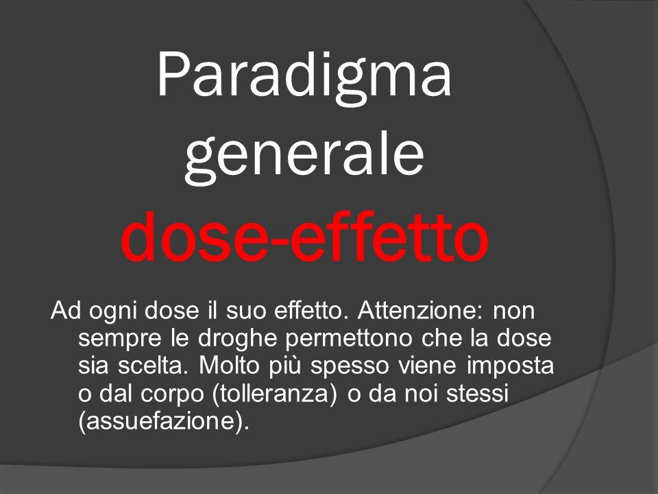 Paradigma generale dose-effetto