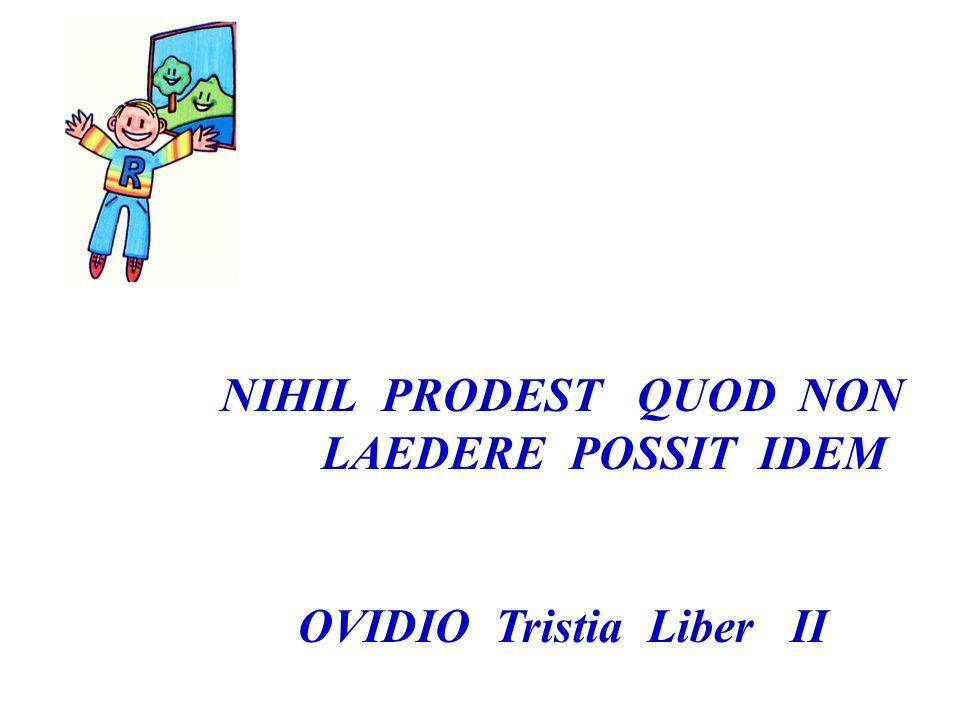 OVIDIO Tristia Liber II