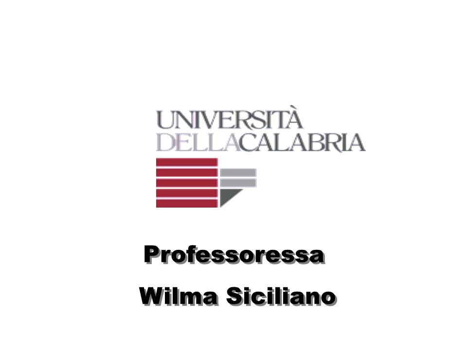 Professoressa Wilma Siciliano