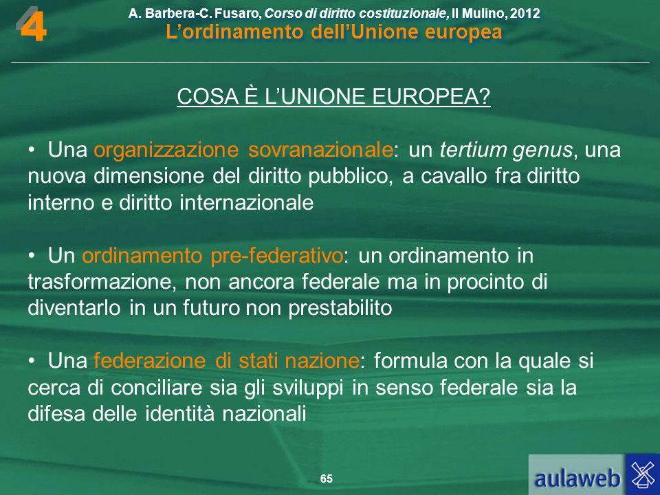 COSA È L'UNIONE EUROPEA