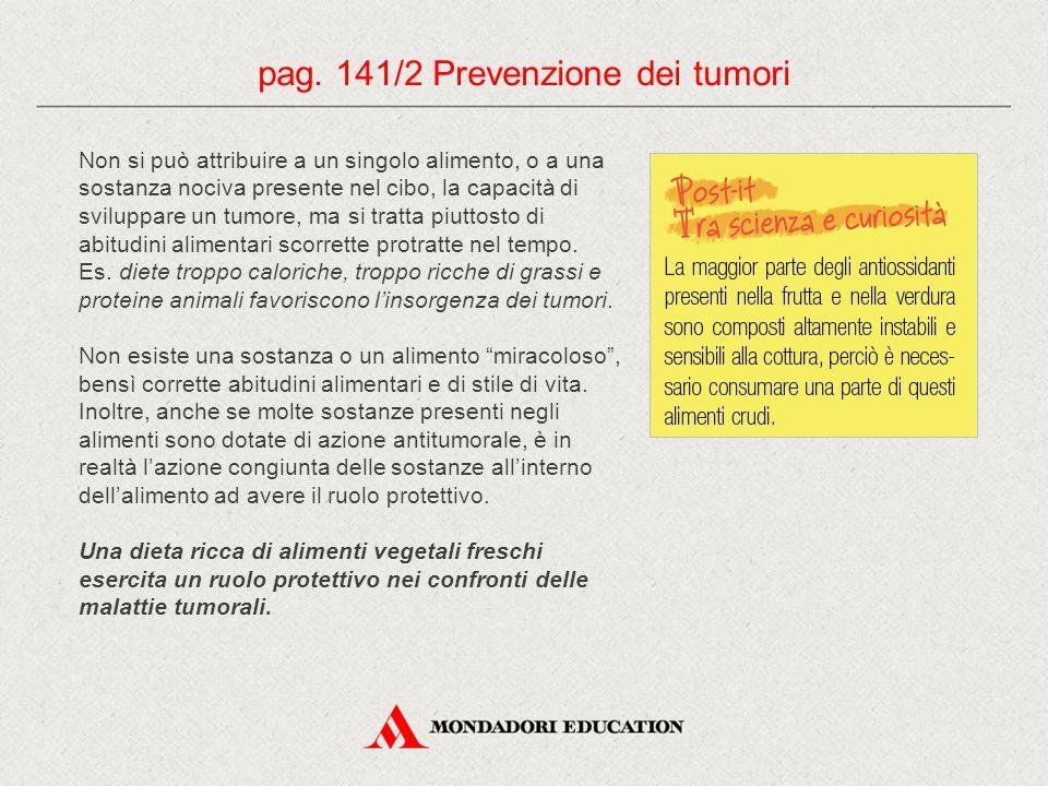 pag. 141/2 Prevenzione dei tumori