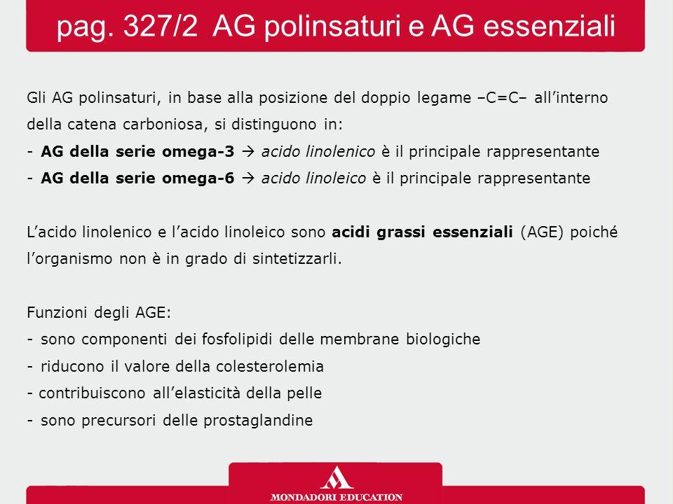 pag. 327/2 AG polinsaturi e AG essenziali