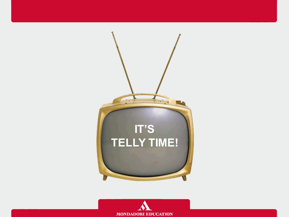 IT'S TELLY TIME!