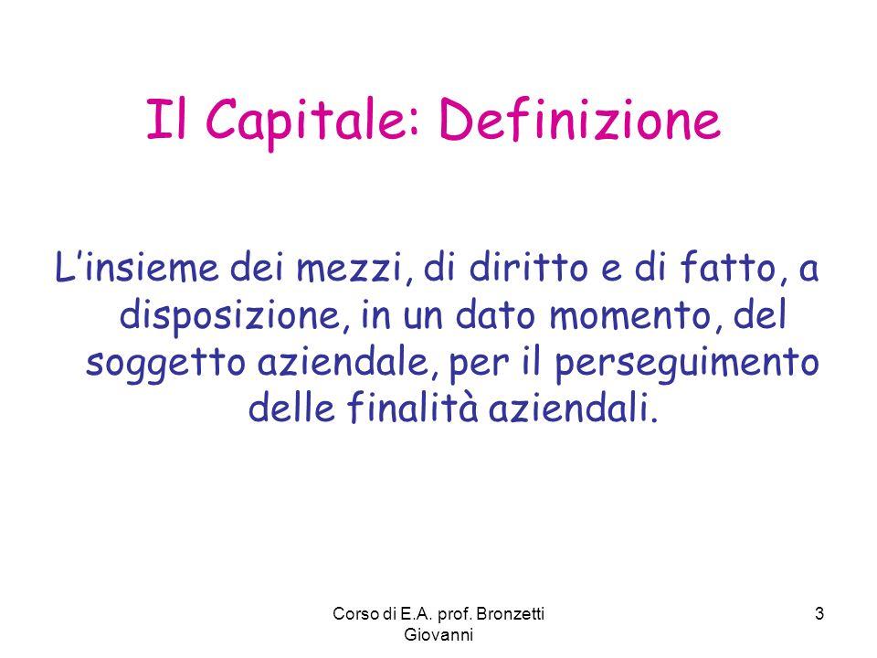Il Capitale: Definizione