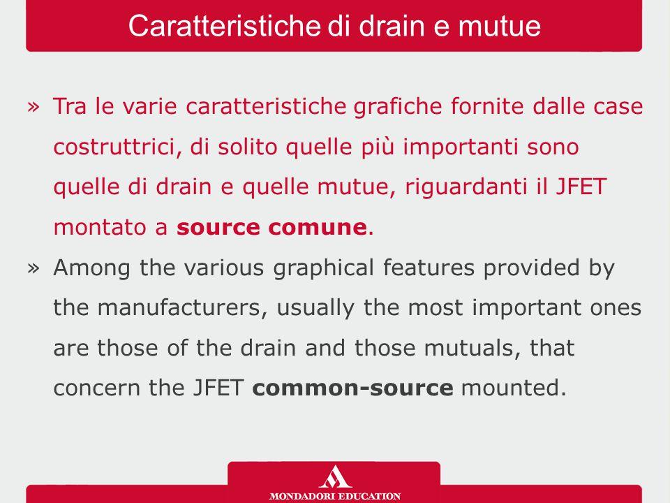 Caratteristiche di drain e mutue