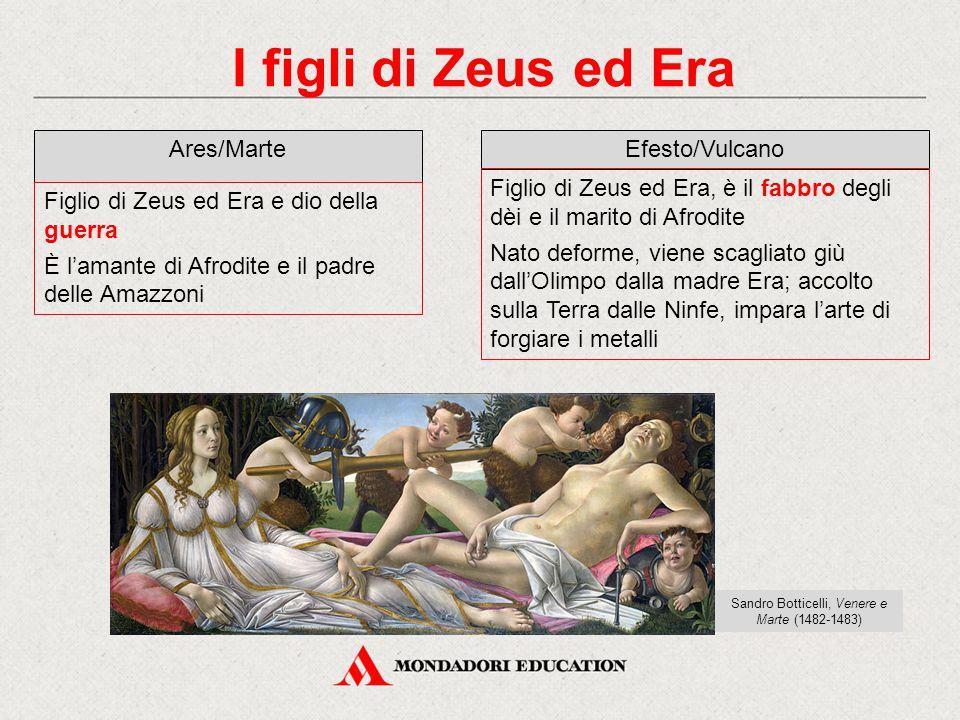 Sandro Botticelli, Venere e Marte (1482-1483)