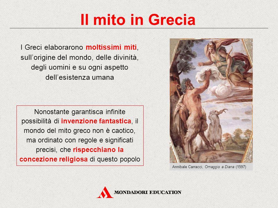 Il mito in Grecia Annibale Carracci, Omaggio a Diana (1597)