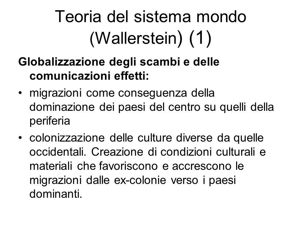 Teoria del sistema mondo (Wallerstein) (1)
