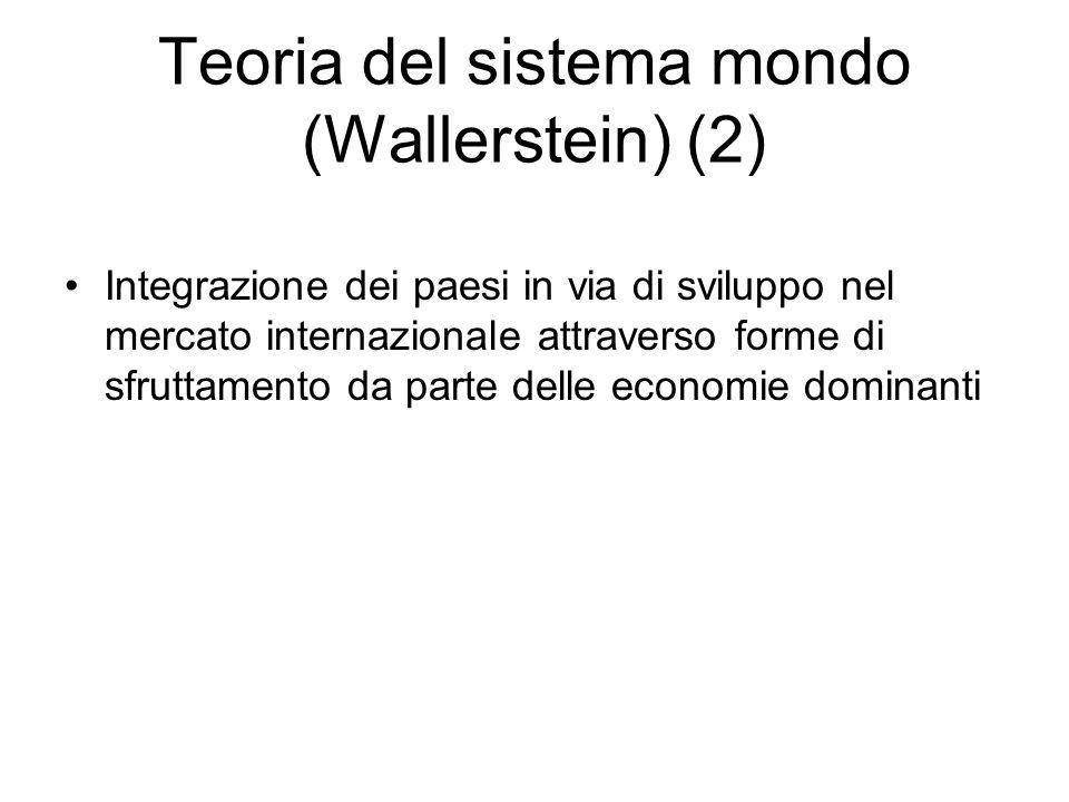 Teoria del sistema mondo (Wallerstein) (2)