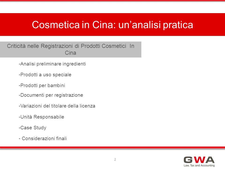 Cosmetica in Cina: un'analisi pratica