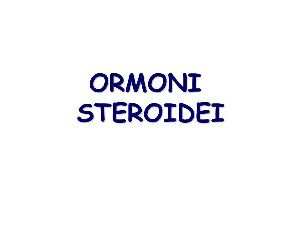 ORMONI STEROIDEI