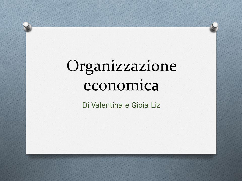 Organizzazione economica