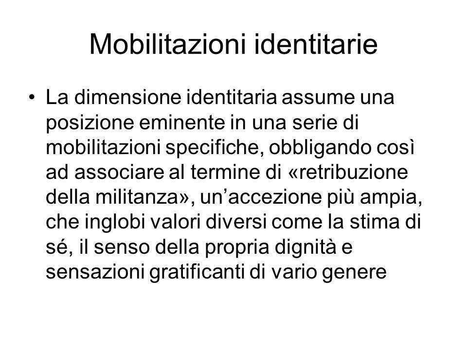 Mobilitazioni identitarie