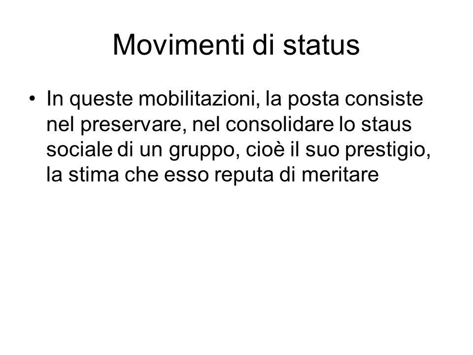 Movimenti di status