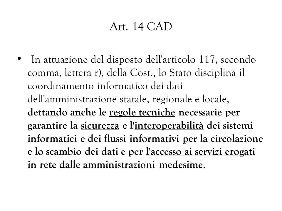 Art. 14 CAD
