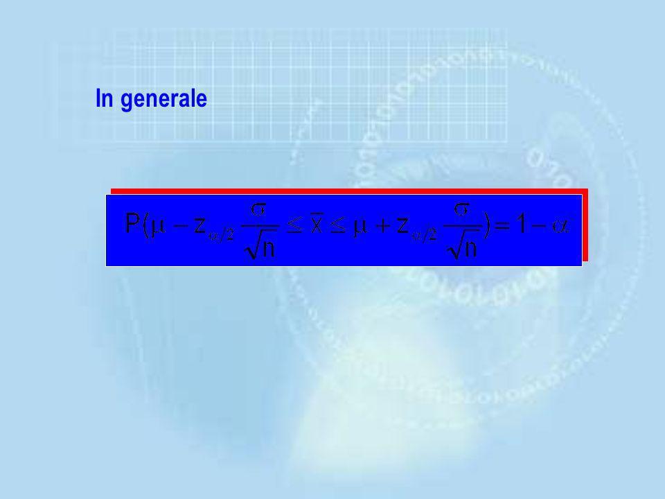 In generale