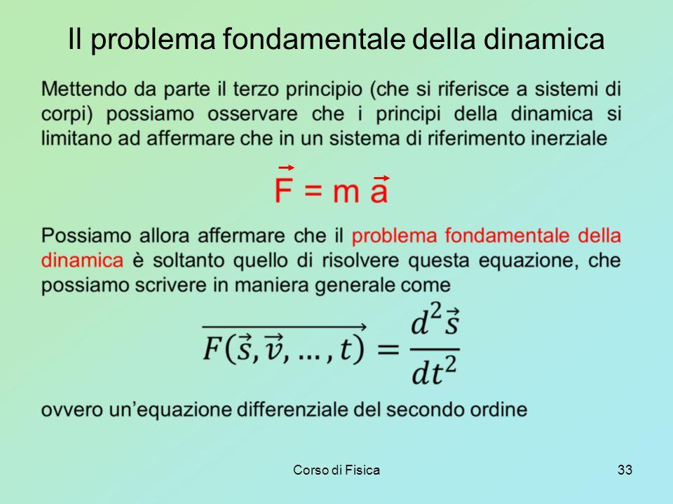 Il problema fondamentale della dinamica
