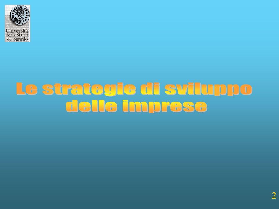 Le strategie di sviluppo