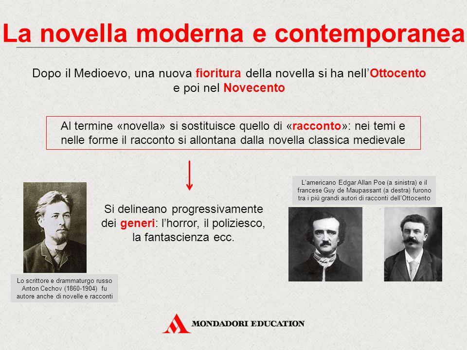La novella moderna e contemporanea