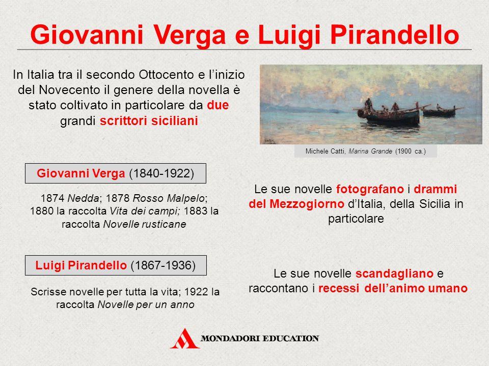 Giovanni Verga e Luigi Pirandello