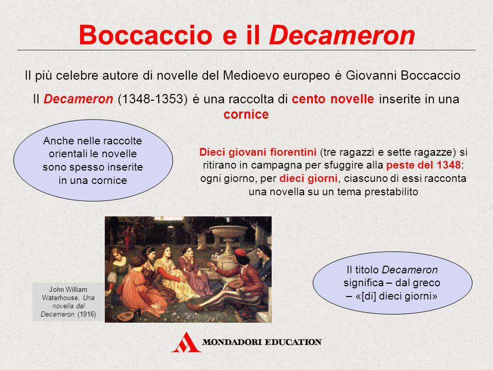 Boccaccio e il Decameron