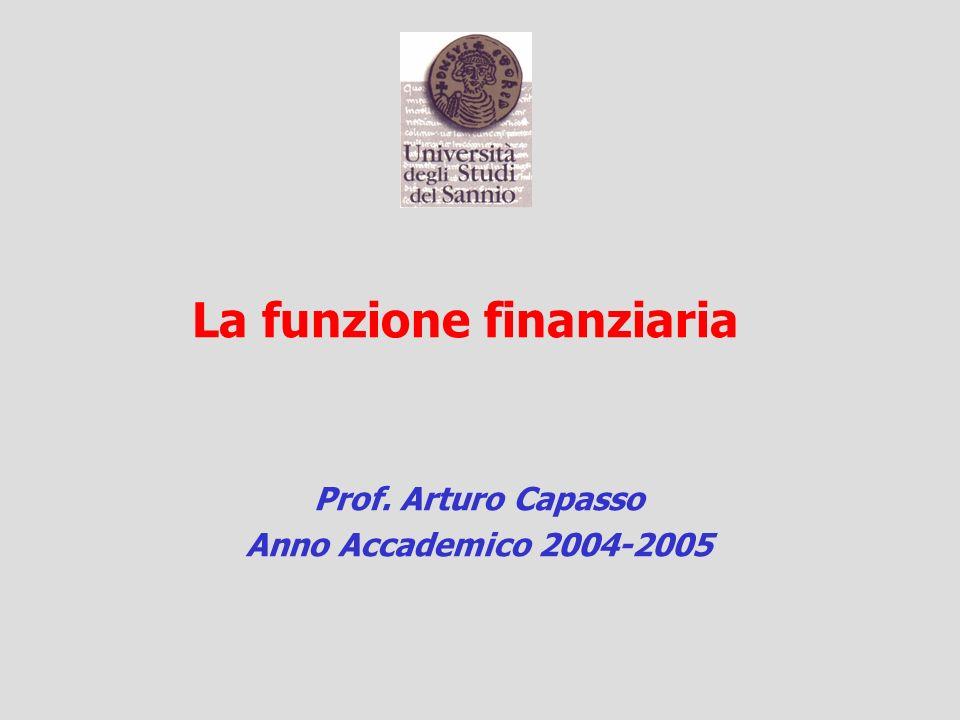 Prof. Arturo Capasso Anno Accademico 2004-2005
