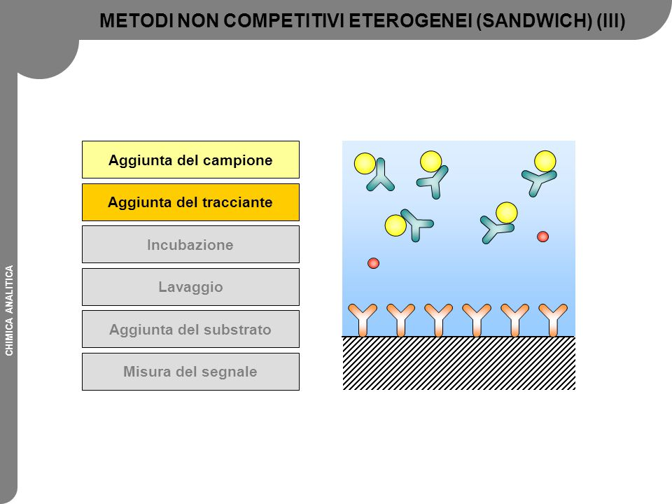 METODI NON COMPETITIVI ETEROGENEI (SANDWICH) (III)