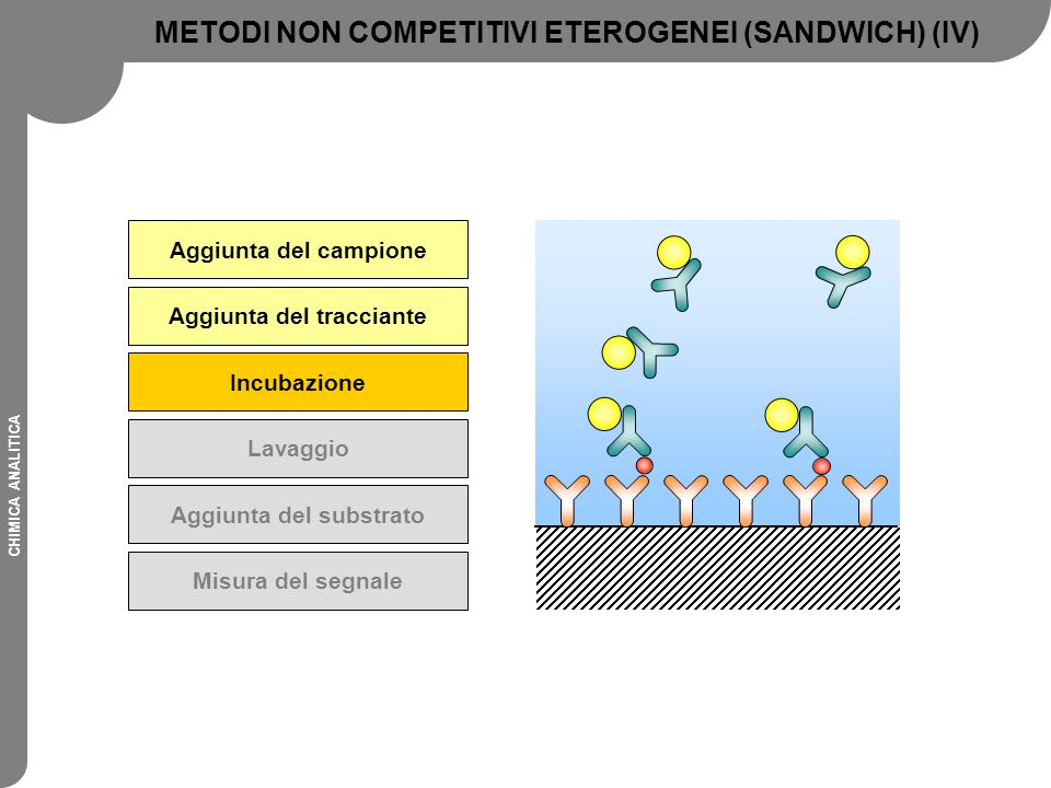 METODI NON COMPETITIVI ETEROGENEI (SANDWICH) (IV)